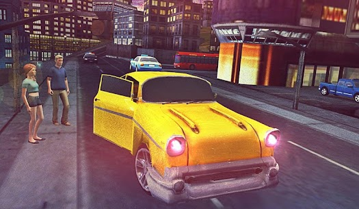 Free Taxi Sims 2017 2.1 Mod + Data for Android 3