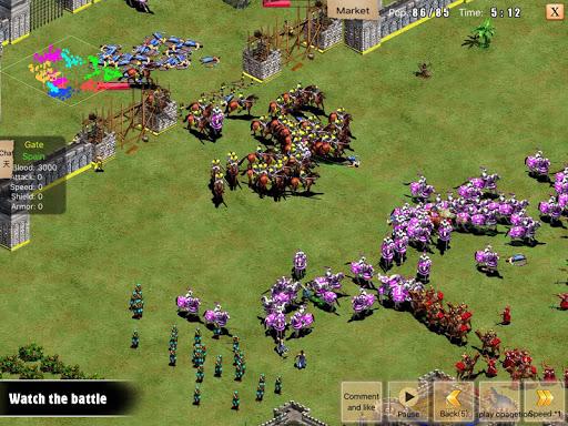 War of Empire Conquestuff1a3v3 Arena Game android2mod screenshots 12