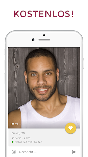JAUMO – Deine Dating App. Singles, Flirts & Chat Screenshot