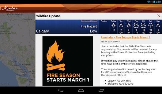 Alberta Wildfire