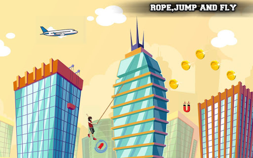 City bounce rope herou2013Free offline adventure games apkmr screenshots 3