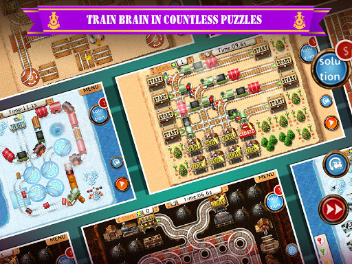 Rail Maze 2 : Train puzzler screenshots 13