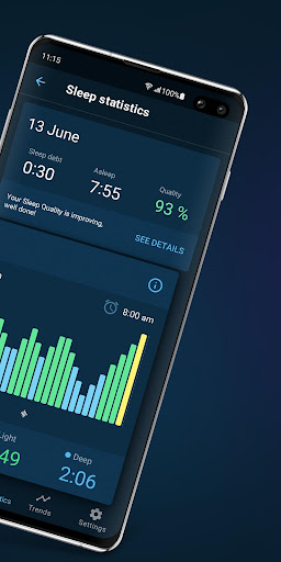 Sleepzy: Sleep Cycle Tracker & Alarm Clock  Screenshots 2
