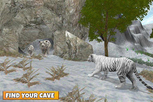 Snow Tiger Family apkmr screenshots 12