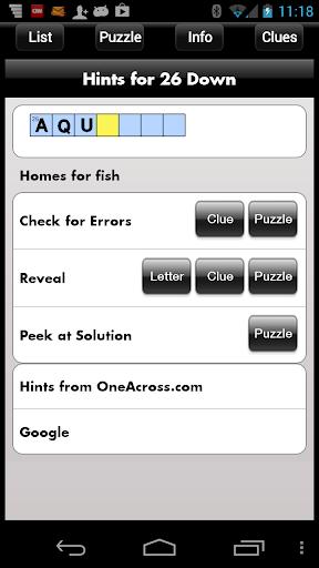 Crossword Light 2.4.5.1 screenshots 3