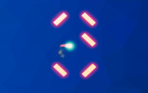 hit ball escape go:bricks breaker free game puzzle screenshot 2