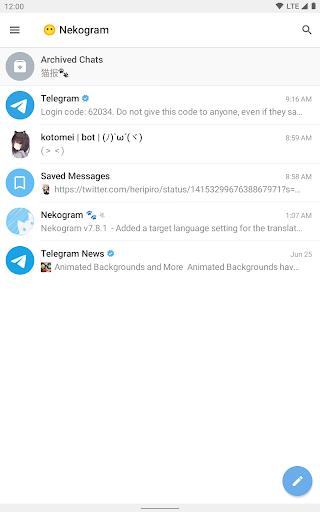 Nekogram android2mod screenshots 9
