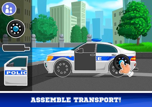 Kids Cars Games! Build a car and truck wash!  screenshots 9