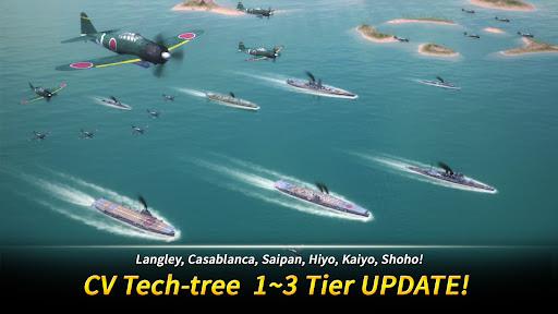 Télécharger Gratuit Warship Fleet Command : WW2 Naval War Game APK MOD (Astuce) screenshots 1