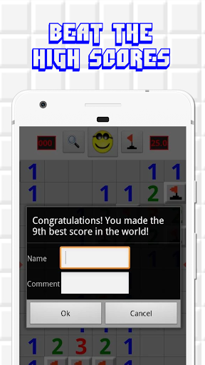 Minesweeper for Android - Free Mines Landmine Game 2.7.6 screenshots 4