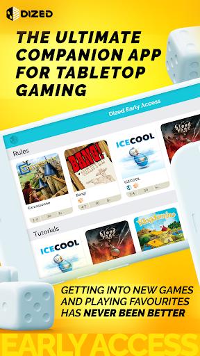 Dized - The Board Game Companion  screenshots 1
