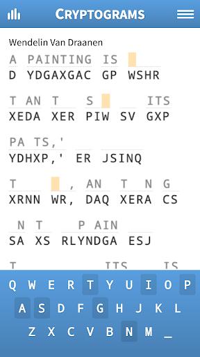Cryptogram Puzzles 1.71 screenshots 1