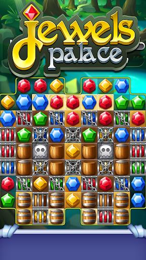 Jewels Palace: World match 3 puzzle master apkslow screenshots 6