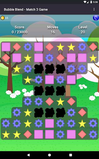Bubble Blend - Match 3 Game  screenshots 3