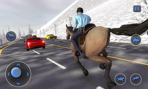 Mounted Horse Police Chase: NY Cop Horseback Ride 1.0.10 screenshots 3
