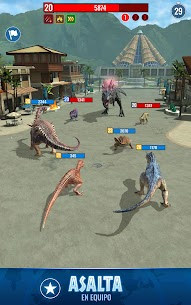 Jurassic World Alive 4