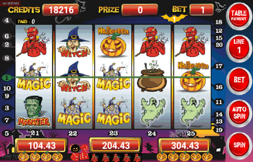 Slot Machine Halloween Lite 5.32 screenshots 2