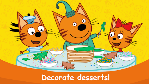 Kid-E-Cats: Cooking for Kids with Three Kittens!  screenshots 4