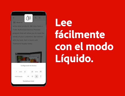 Adobe Acrobat Reader: edite, escanee y envíe PDF Screenshot