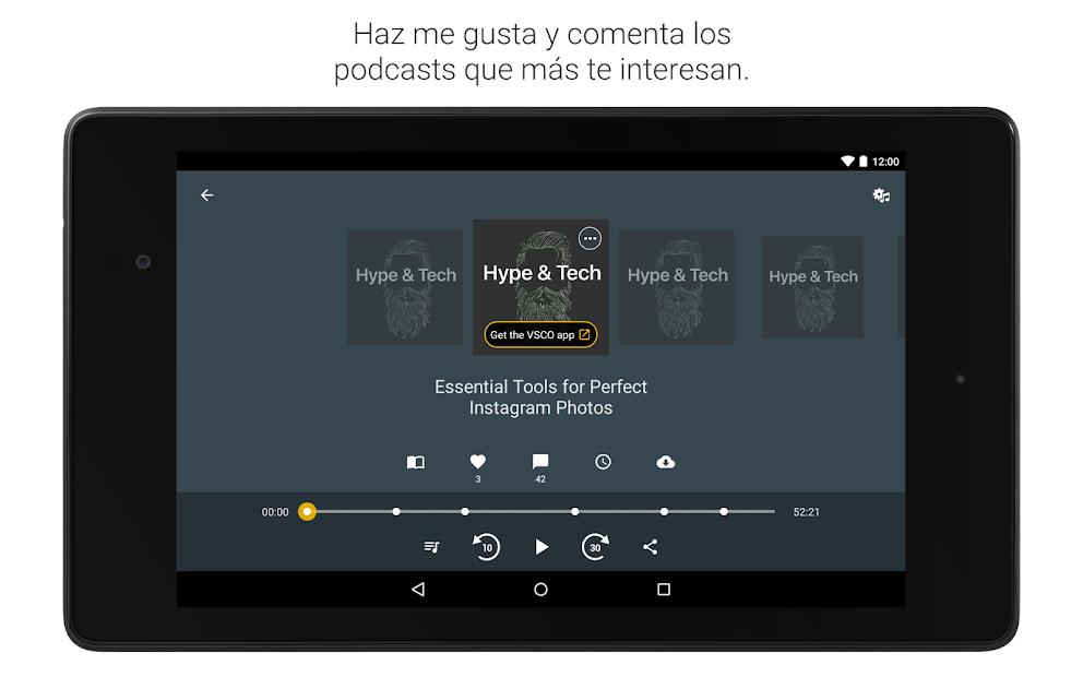 Captura 15 de Spreaker Podcast Player - Escucha podcasts gratis para android
