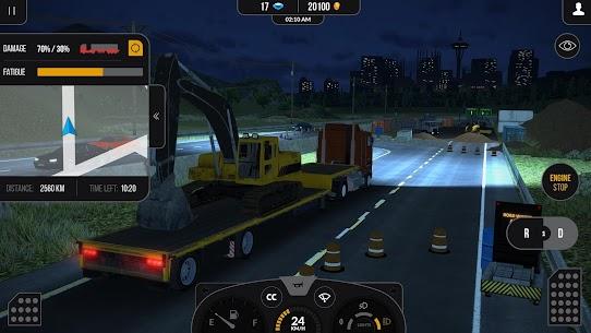 Truck Simulator PRO 2 APK ** Son Sürüm Güncel 2021** 4
