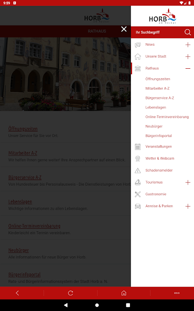 Horb-App screenshot 5