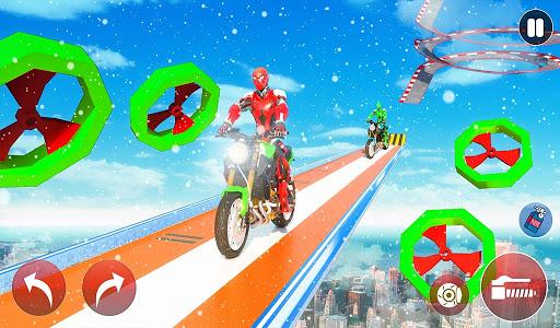 New Crazy Rope Spider Girl Bike Stunts Master 2021 screenshots 2