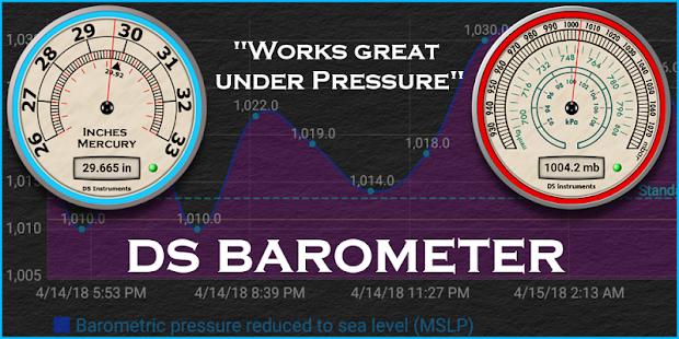DS Barometer - Altimeter and Weather Information 3.78 Screenshots 15