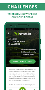 Seek by iNaturalist Screenshot