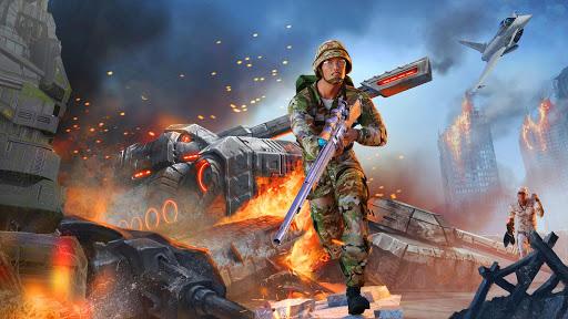 Télécharger Gratuit Army Sniper Shooter 2018: Commando Gun War apk mod screenshots 3