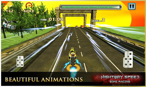 Highway Speed Motorbike Racer : Bike Racing Games  screenshots 6