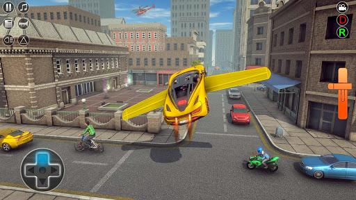 Flying Car Rescue Game 3D: Flying Simulator 1.9 screenshots 6
