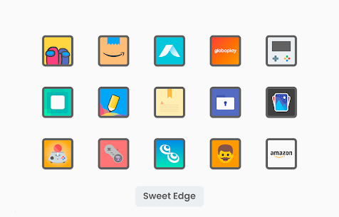 Sweet Edge Apk- Icon Pack 1.8 (Paid) Download 6