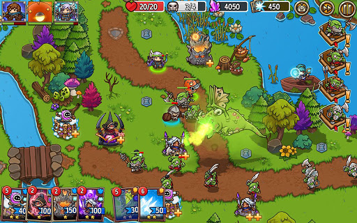 Crazy Defense Heroes: Tower Defense Strategy Game 2.4.0 screenshots 16