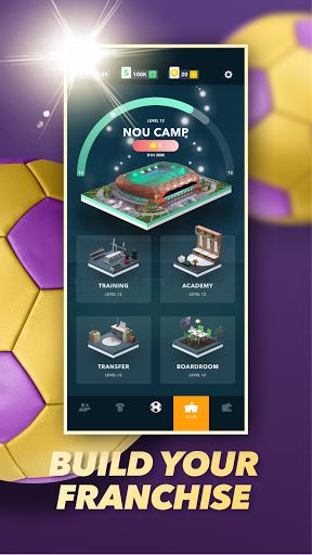 World Football Manager 2021 - Become the Top GM! Apkfinish screenshots 1