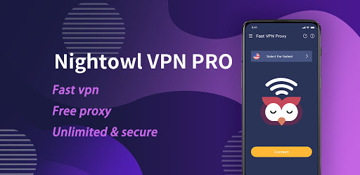 NightOwl VPN PRO - Fast , Free, Unlimited, Secure android2mod screenshots 1