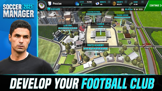 Soccer Manager 2021 - Free Football Manager Games apk