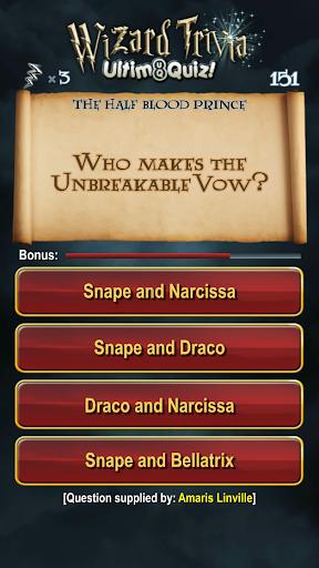 Harry Potter Wizard Quiz: U8Q 2.0.1 Screenshots 11