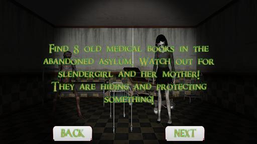 Slendergirl Must Die: The Asylum  screenshots 2