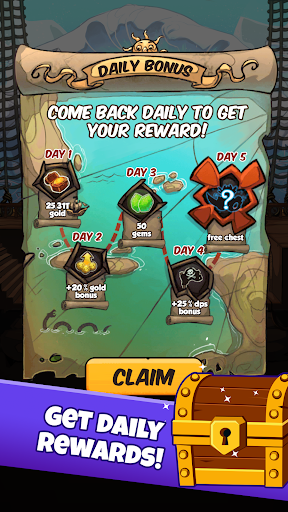 Idle Tap Pirates - Offline RPG Incremental Clicker 1.4.0.11 de.gamequotes.net 4