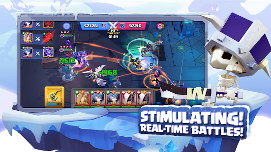 Lazy Heroes: Embattle - Strategy 3D Idle Game screenshots 12
