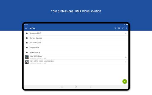 GMX Cloud  screenshots 7