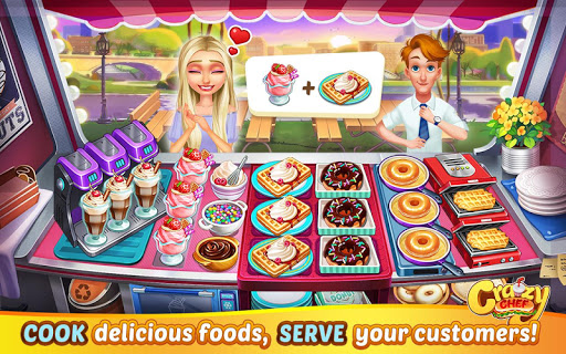 Crazy Chef: Fast Restaurant Cooking Games  screenshots 7