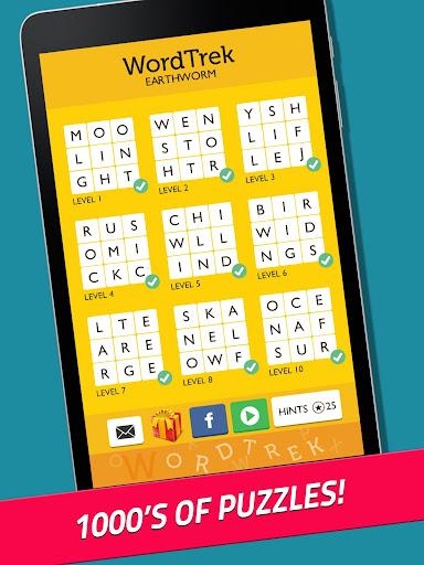 Word Trek - Word Brain streak - hand made puzzles 1.4.12 screenshots 12