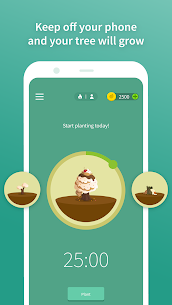 Forest: Stay focused 4.28.1 MOD APK [PREMIUM UNLOCKED] 3