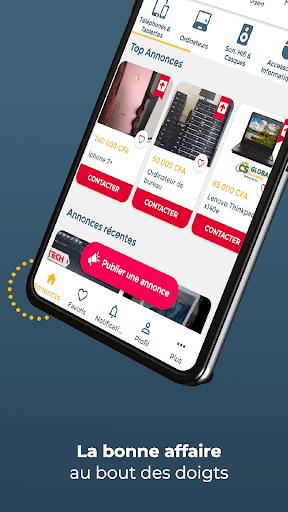 CoinAfrique Annonces - Achu00e8te facile, vends rapide modavailable screenshots 1