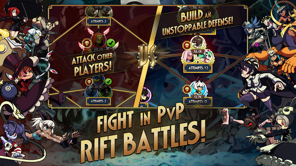Skullgirls: Fighting RPG  poster 4