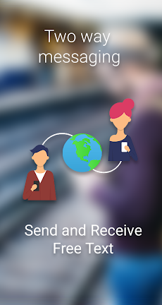 FREE TEXT to Philippines | PreText SMS - SMS/MMSのおすすめ画像1
