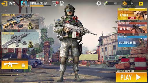 Code Triche Nouveau tireur d'élite commando hors ligne 2020 (Astuce) APK MOD screenshots 6
