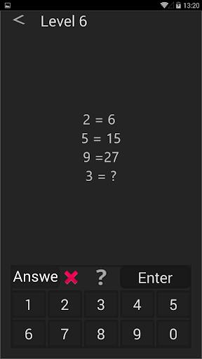 Math games - mind games - brain games  screenshots 3